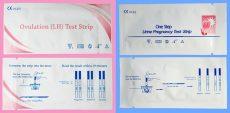 Ovulációs és terhességi teszt csomag (50+10 db)