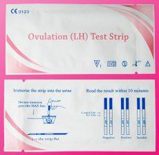Ovulációs teszt (25 db-os, normál érzékenység)