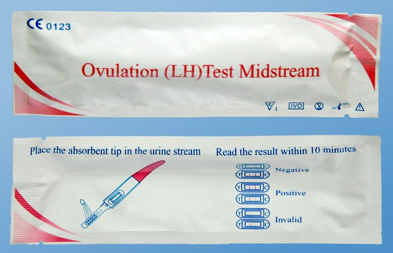 Vizeletsugaras ovulációs (LH) teszt
